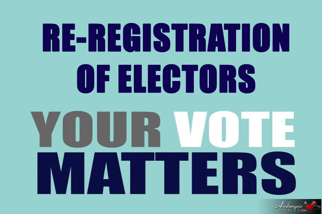 Re-Registration of Electors in July