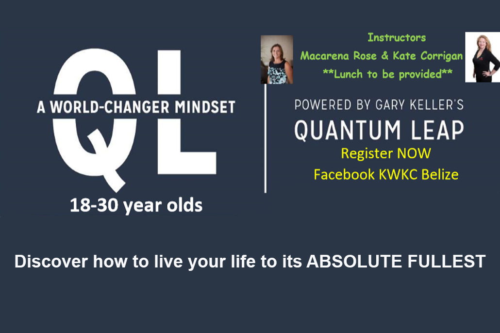 QL - A World-Changer Mindset Workshop for Young Adults