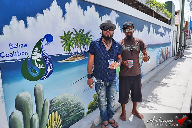 Ocean Mural Unveiled in San Pedro During Reef Week Oceana Belize