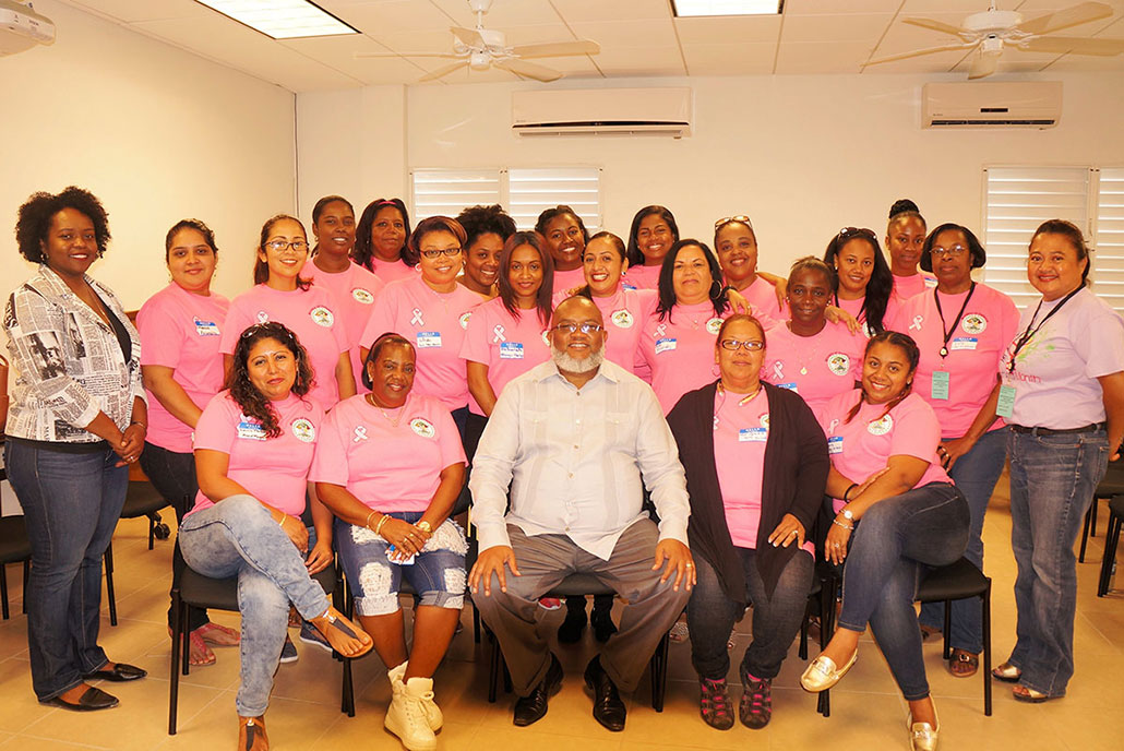 Belize Highlights International Women's Month