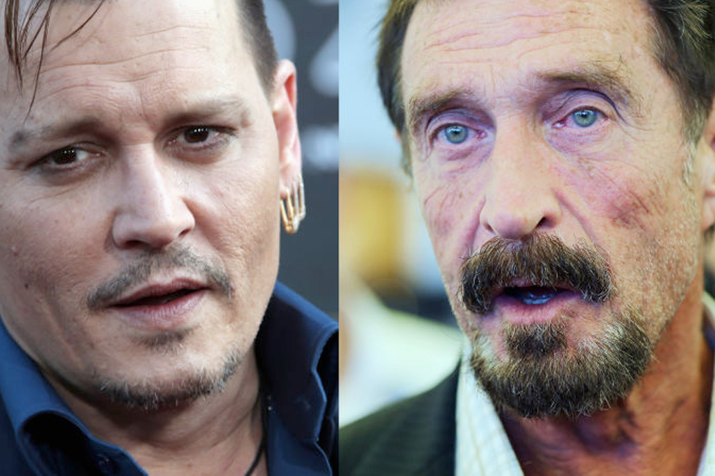 Johnny Depp Will Play John McAfee in Upcoming Biopic Movie