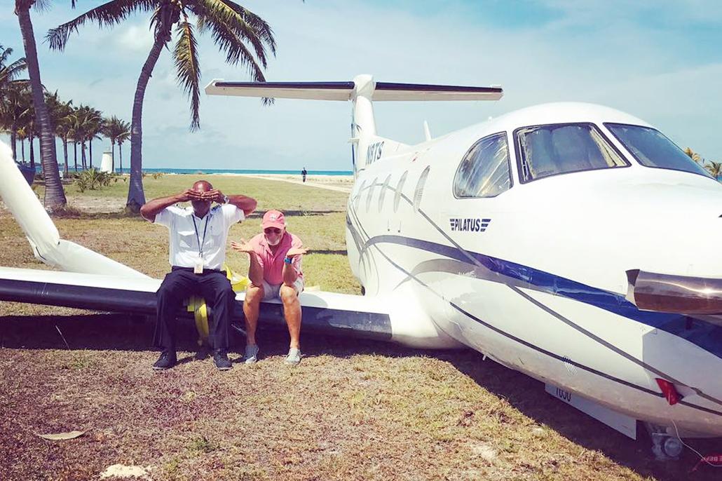 Did Belizean Pilot Crash Land Jimmy Buffett's Private Plane?