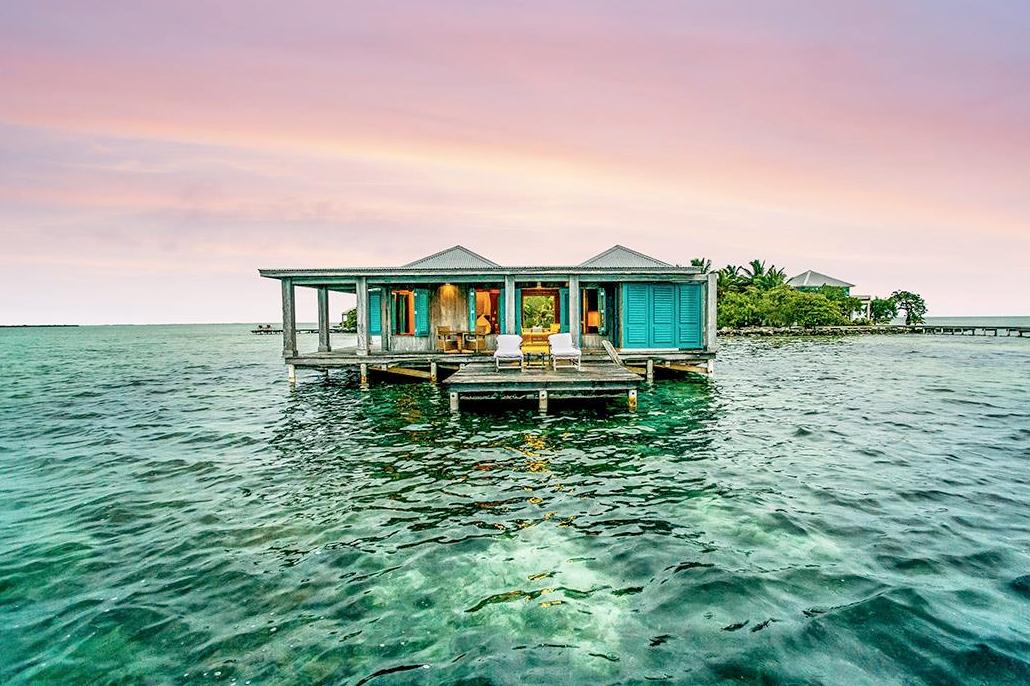 San Pedro Selected as World's Best Luxury Honeymoon Destination - Cayo Espanto