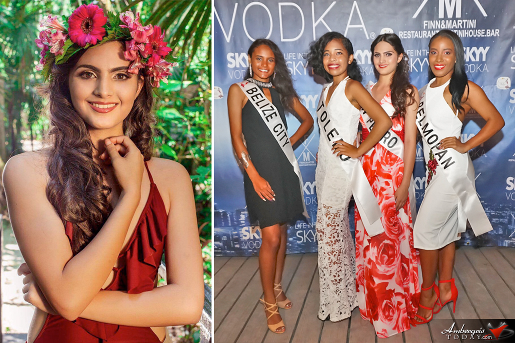 Grace Brown to Represent San Pedro at Miss Teen Belize Pageant