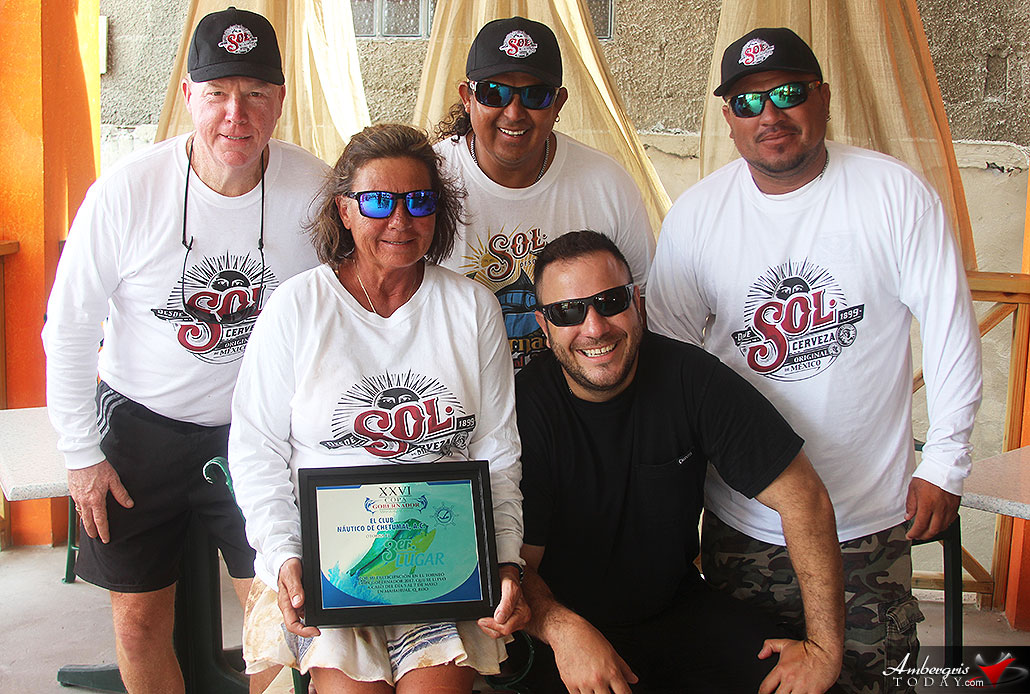 Belize's Hook Line and Sinker Places Third at Mahahual Fishing Tournament
