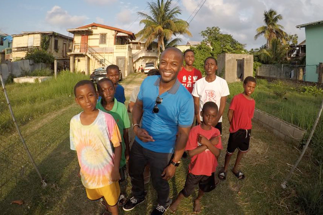 Journalist Kendis Gibson Visits Belize After 11 Years