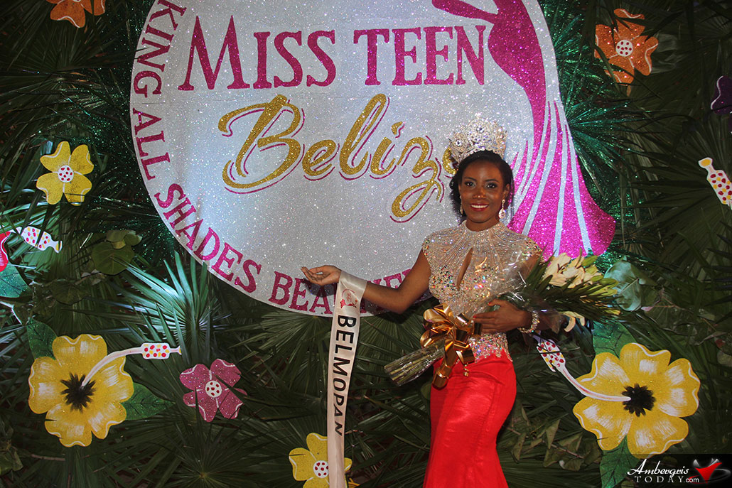 Miss Teen Earth and Teen International Titles Selected at Miss Teen Belize Pageant