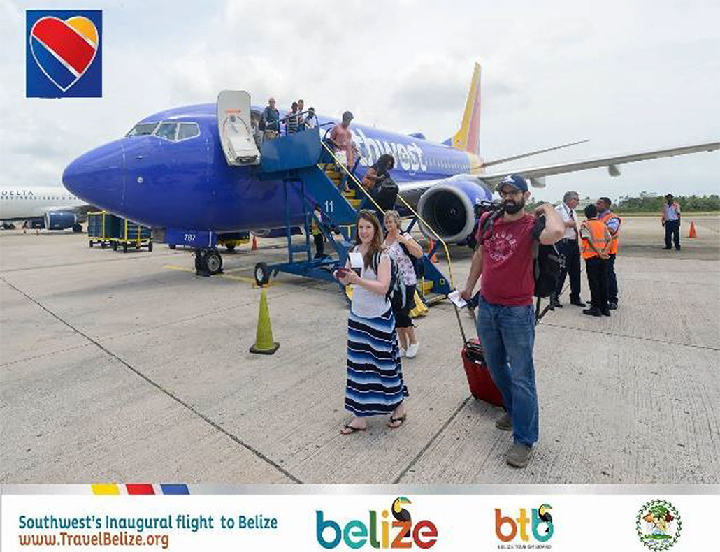 Southwest Airlines begins daily flight from Ft. Lauderdale to Belize