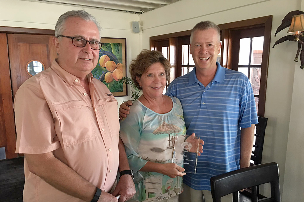 Victoria House Resort Receives 2017 Outstanding Service Award