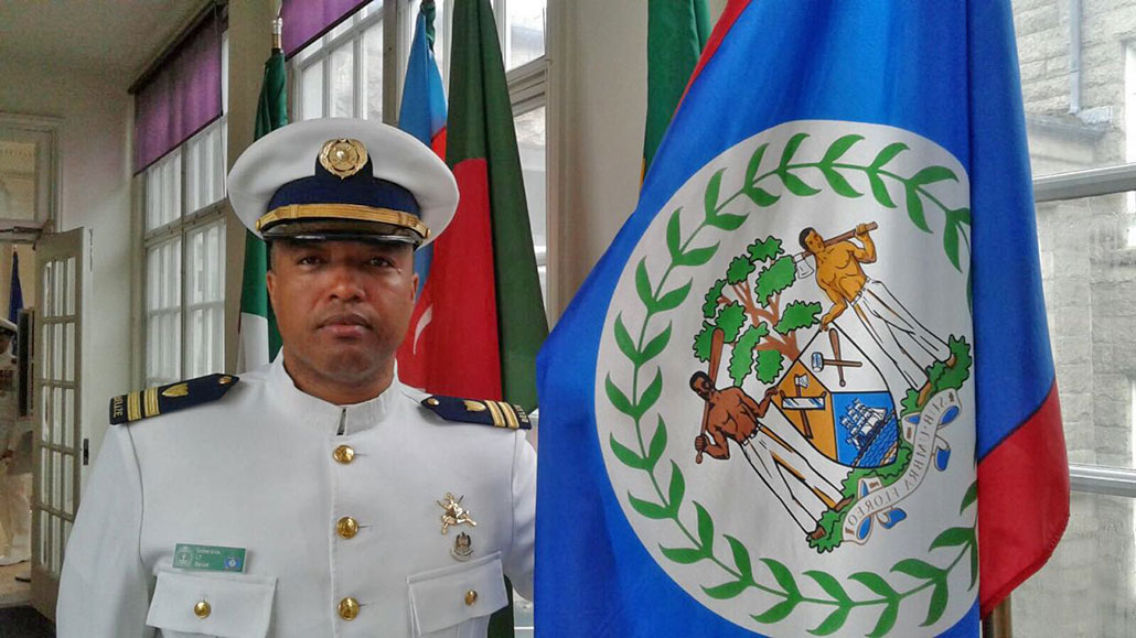 Belize Coast Guard Officer Graduates with Top Honors Abroad