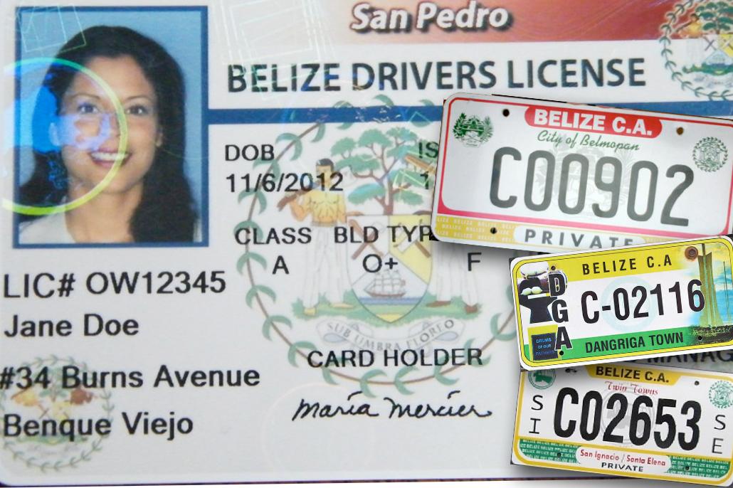 Belize to Establishment National Standard Vehicle Registration & Drivers Licensing System