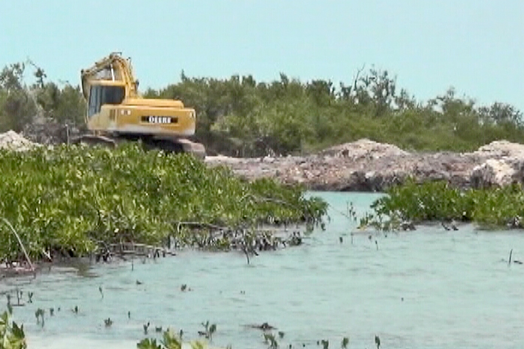 Ministry Investigates Illegal Mining and Dredging on Ambergris Caye