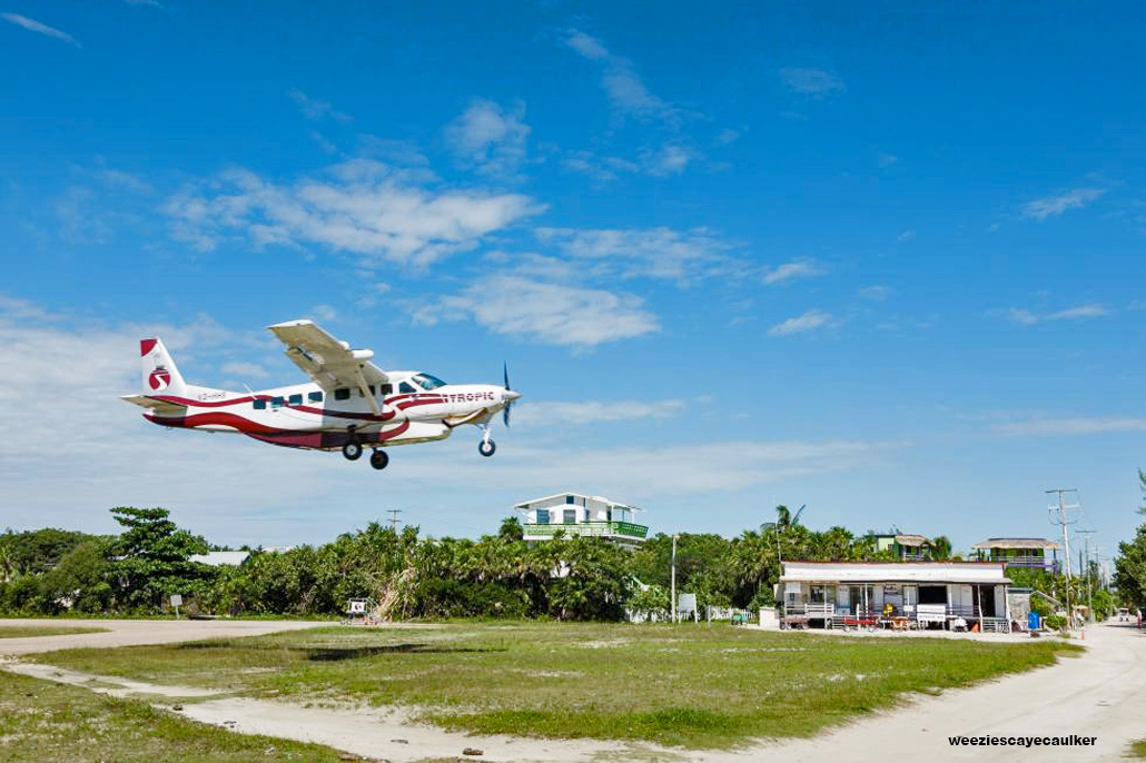 Local Airlines to Suspend Flights to Caye Caulker