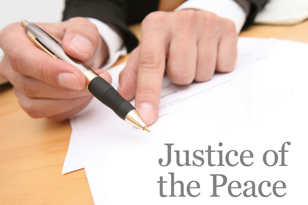 Justices of the Peace Cannot Charge for Services