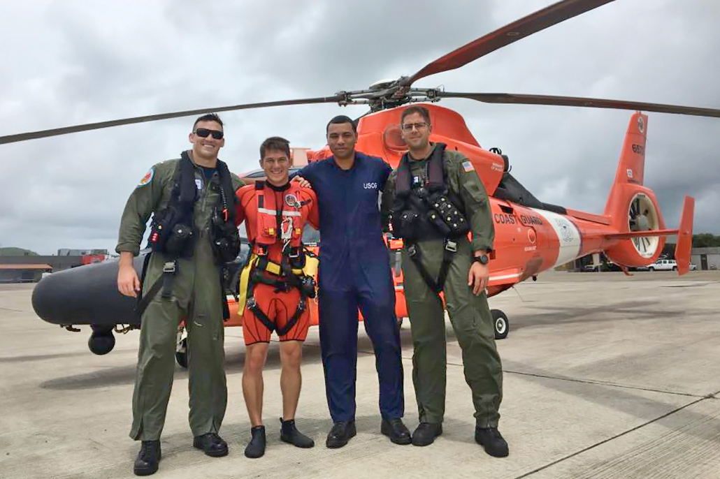 Belizean in US Coast Guard Providing Assistance During Hurricane Irma