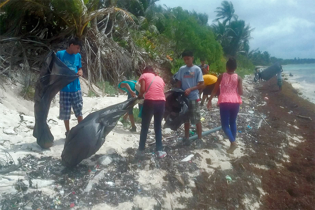 Children Participate in River to Reef Ambassador Program on Ambergris Caye