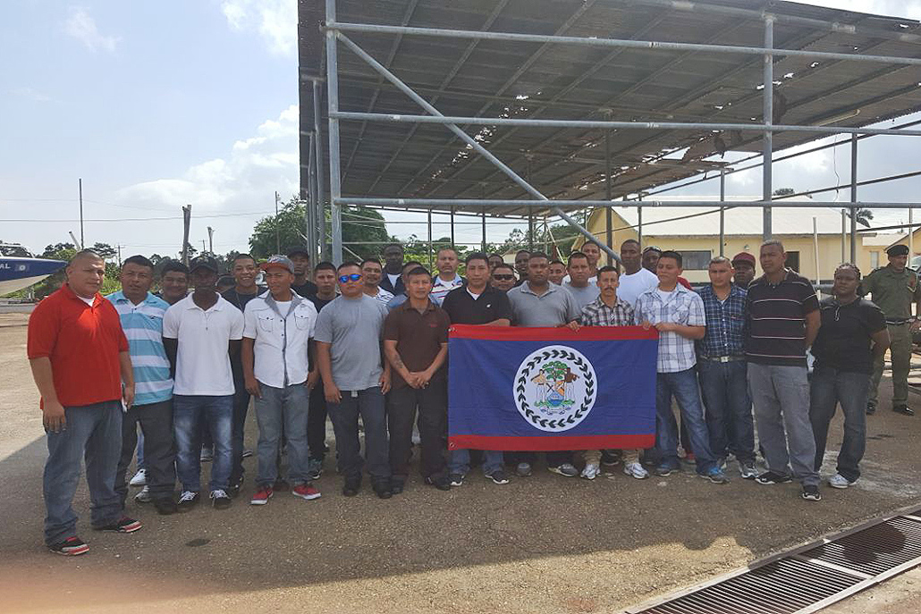 Belize Defense Force Deploys Soldiers to Commonwealth of Dominica