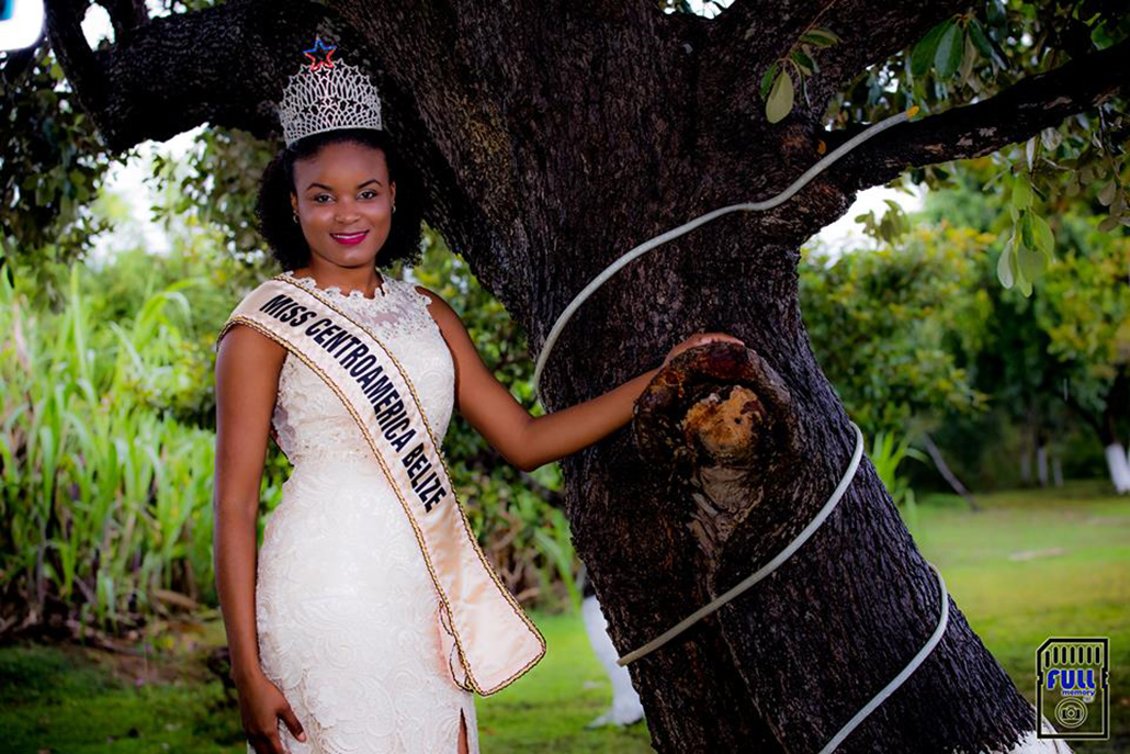 Miss Centroamerica Belize Places Second in International Pageant