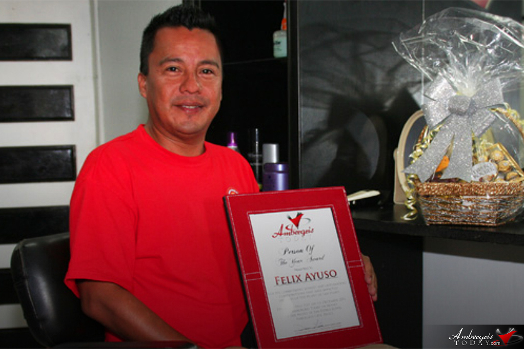 National AIDS Commission Awards Felix Ayuso Jr. on World AIDS Day 2017