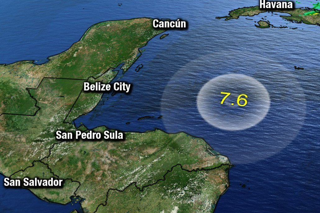 Belize Learns that The Tsunami Threat is Real After Earthquake in Caribbean