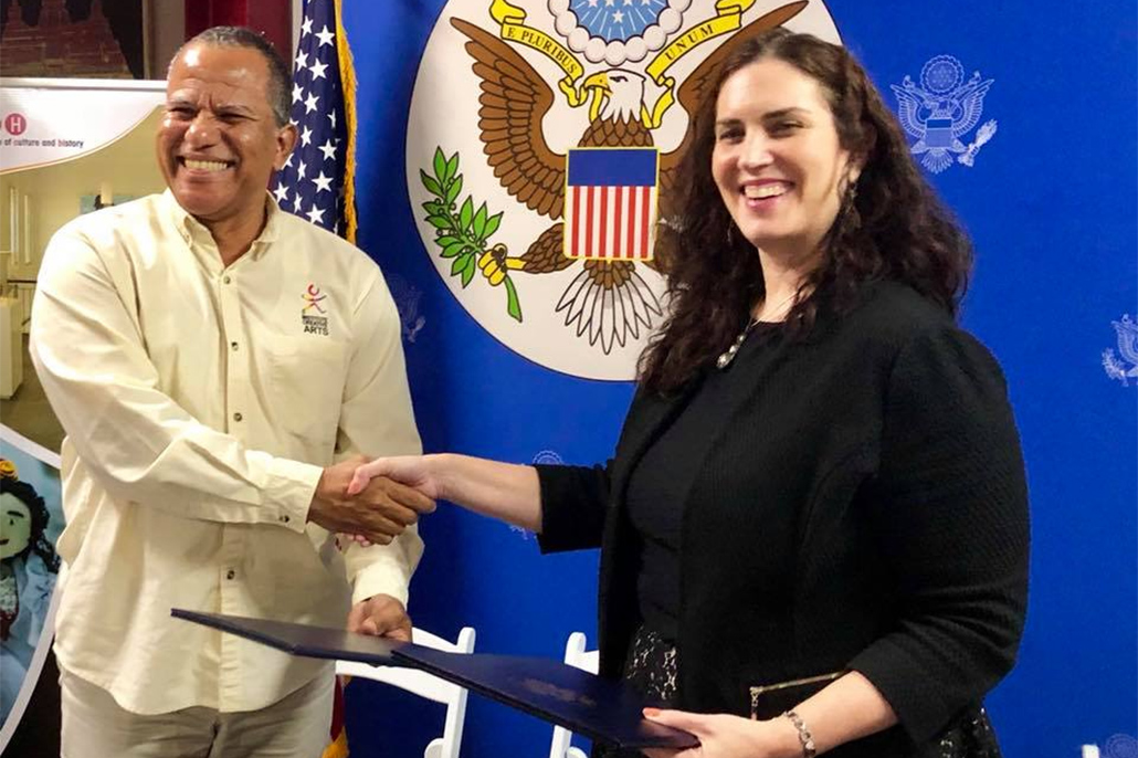 Government of Belize signs Memorandum of Understanding with Government of the United States of America to Protect Artifacts.
