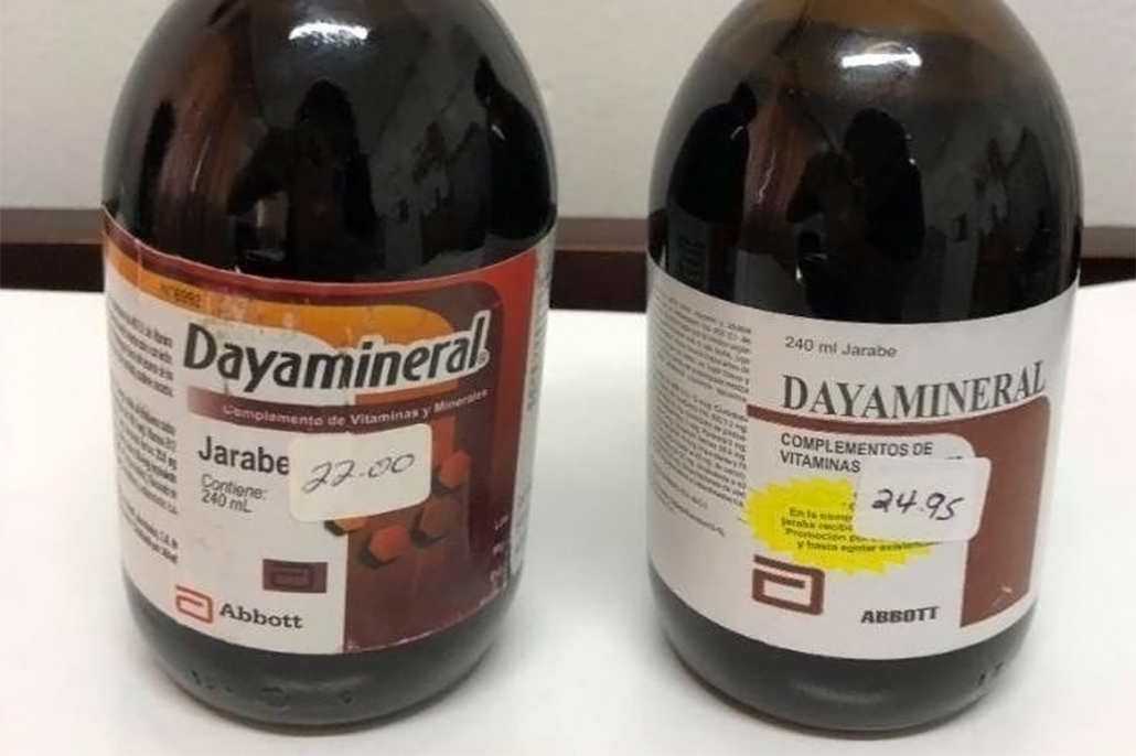 Ministry of Health Cautions the Public on an Unauthorized Vitamin and Mineral Syrup