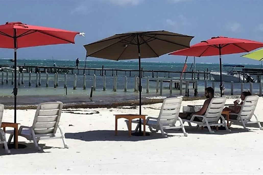 Belize Tourism Board Enhances Beaches at Caye Caulker and Punta Negra Villages
