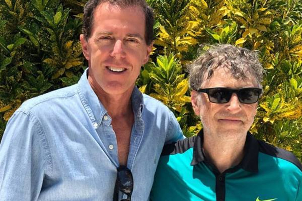 Celebrity Spotting: Bill Gates in San Pedro, Ambergris Caye
