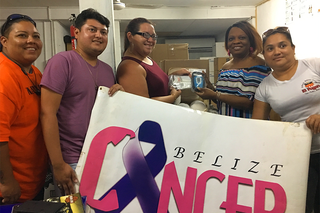 The Belize Cancer Society of California Donate to the San Pedro Cancer Society