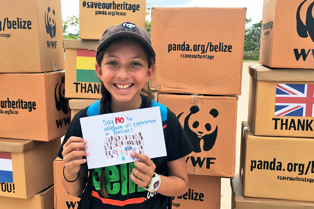 Madison Edwards Receives Recognition by WWF at International President's Youth Award