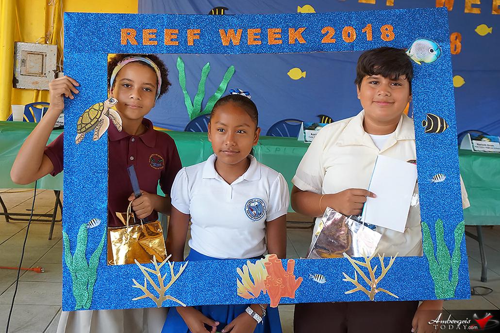 Isla Bonita Elementary's Annelyse Perdue Wins Reef Week Trivia
