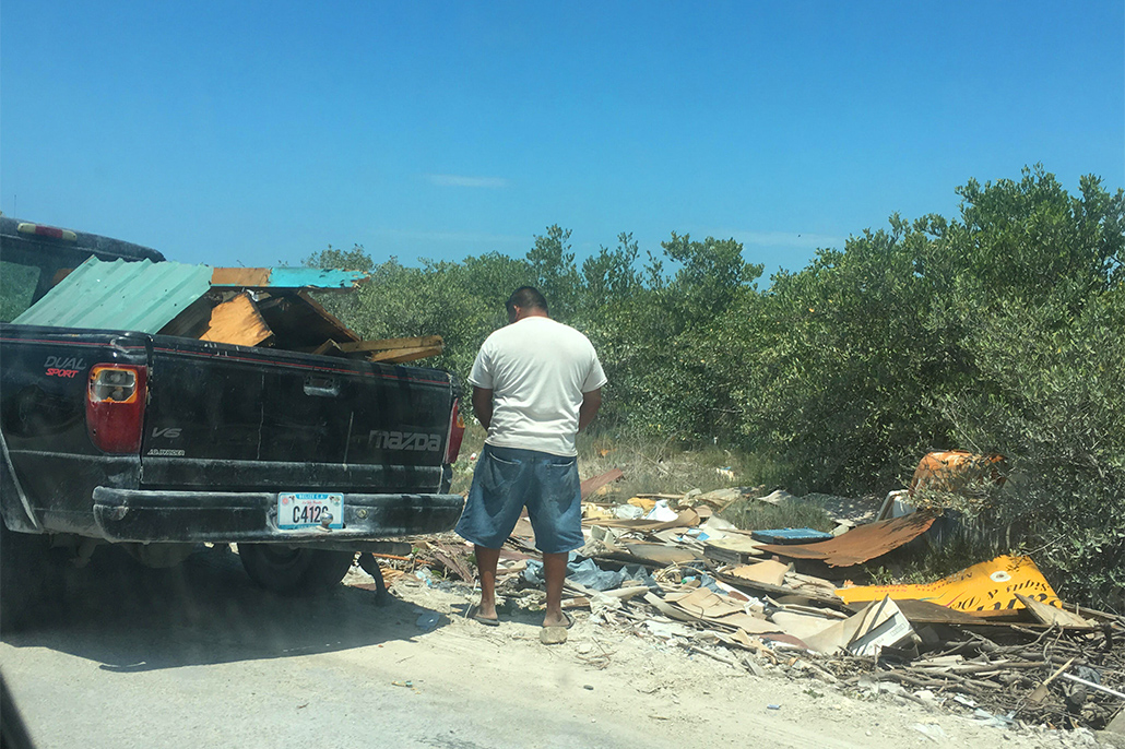 Illegal Trash Dumping Still a Problem as Town Council Spearheads Cleanup Campaign