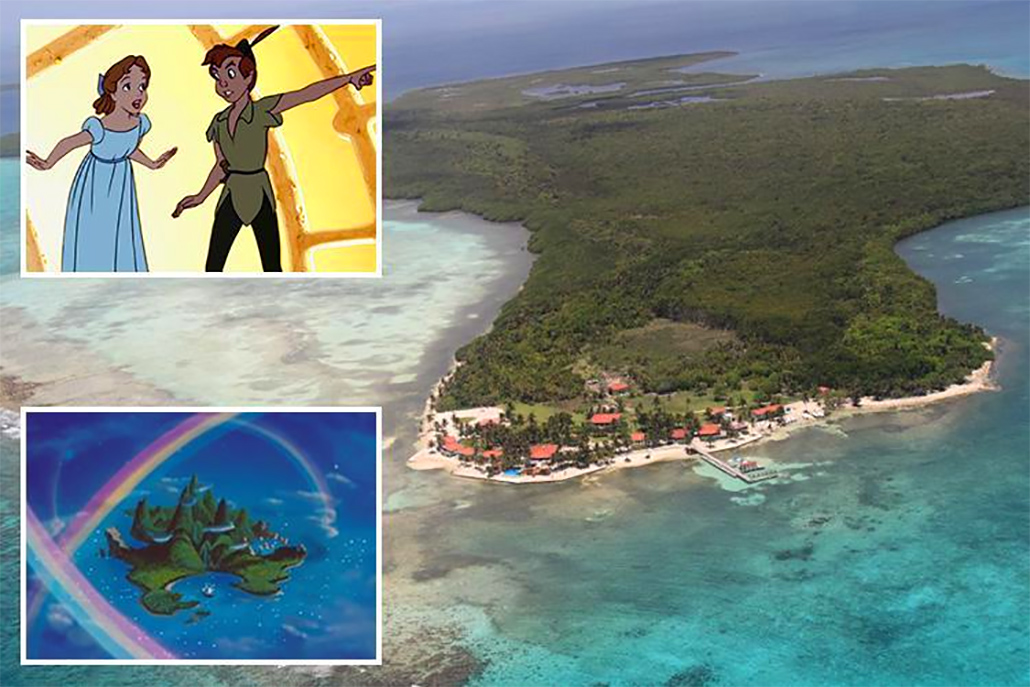 Youtuber Reports He found Peter Pan's Neverland in Belize