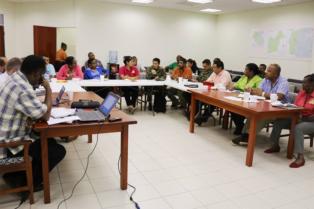 Nemo Holding Pre-Hurricane Season Planning Meetings