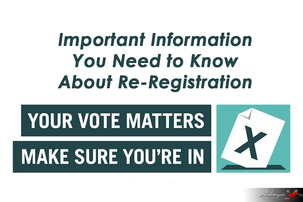 Re-Registration of Electors Exercise 2018