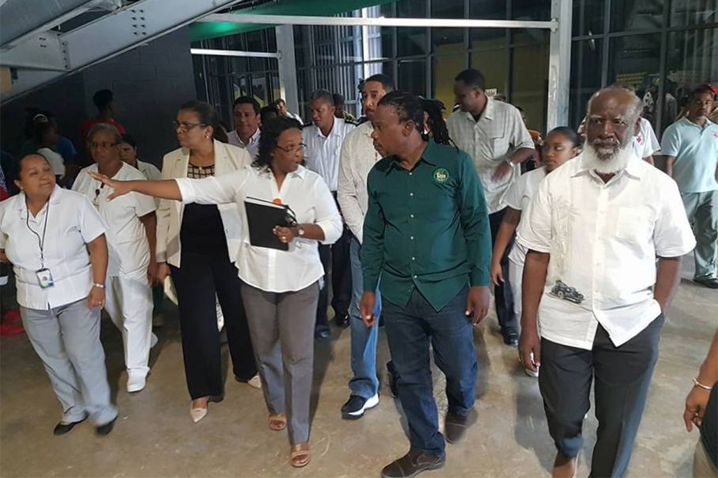 Belize Civic Center To be Used for Emergency Operations Center