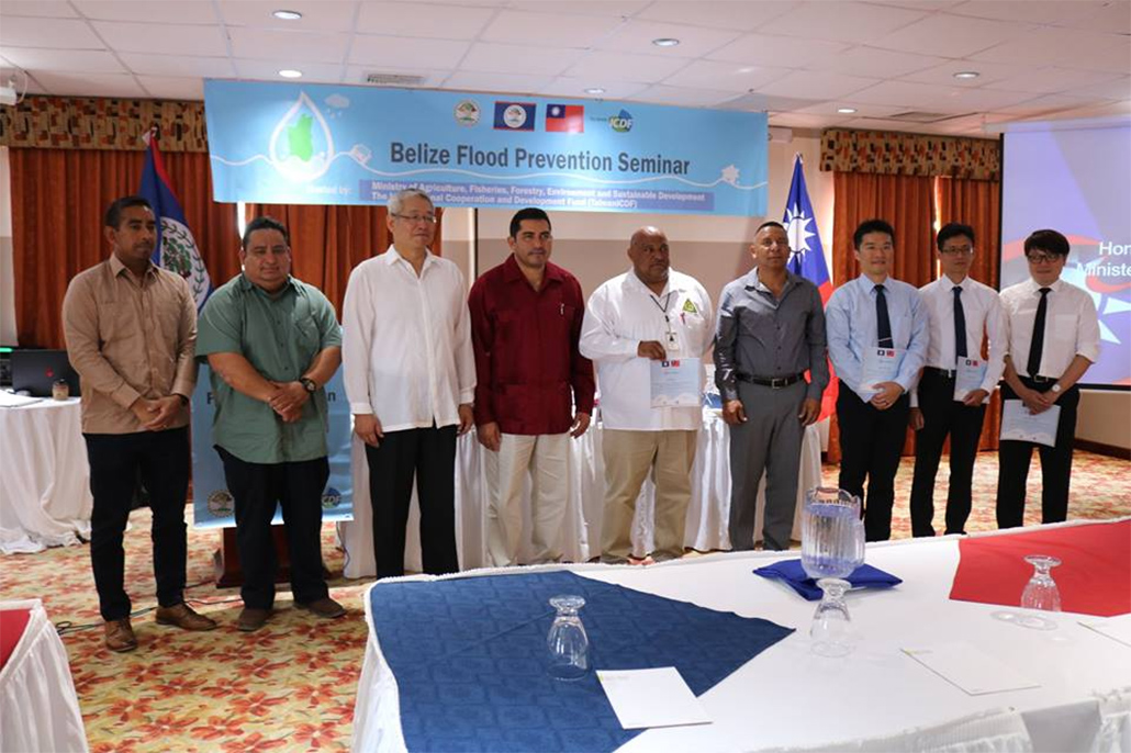 Flood Prevention Seminar Hosted by Governments of Taiwan and Belize