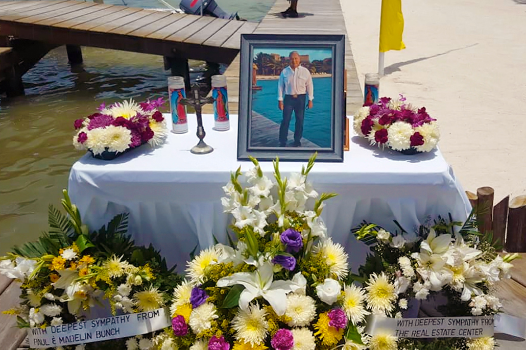 San Pedro Bids Farewell to Mr. Ramon Nunez