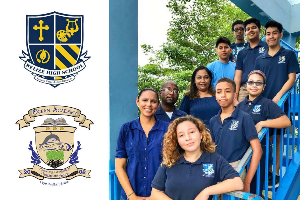 Belize High School and Ocean Academy partner to participate in First Global Challenge 2018