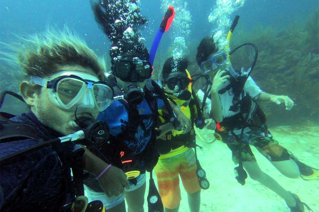 Junior Open Water Divers Certified in Kids in Action Summer Camp