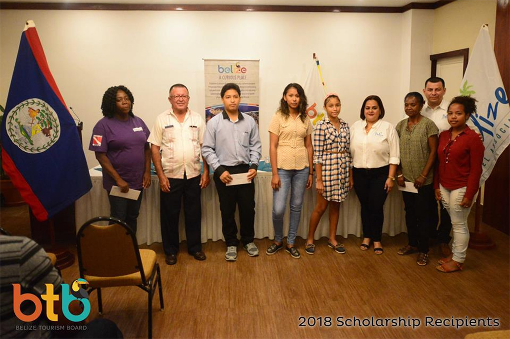 BTB and BHA award Scholarships to Ten Belizean Students