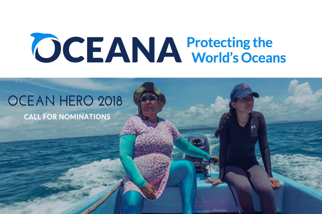 Ocean Hero Award 2018 - Call for Nominations!