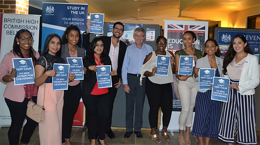 9 Belizeans Awarded Prestigious Chevening Scholarships