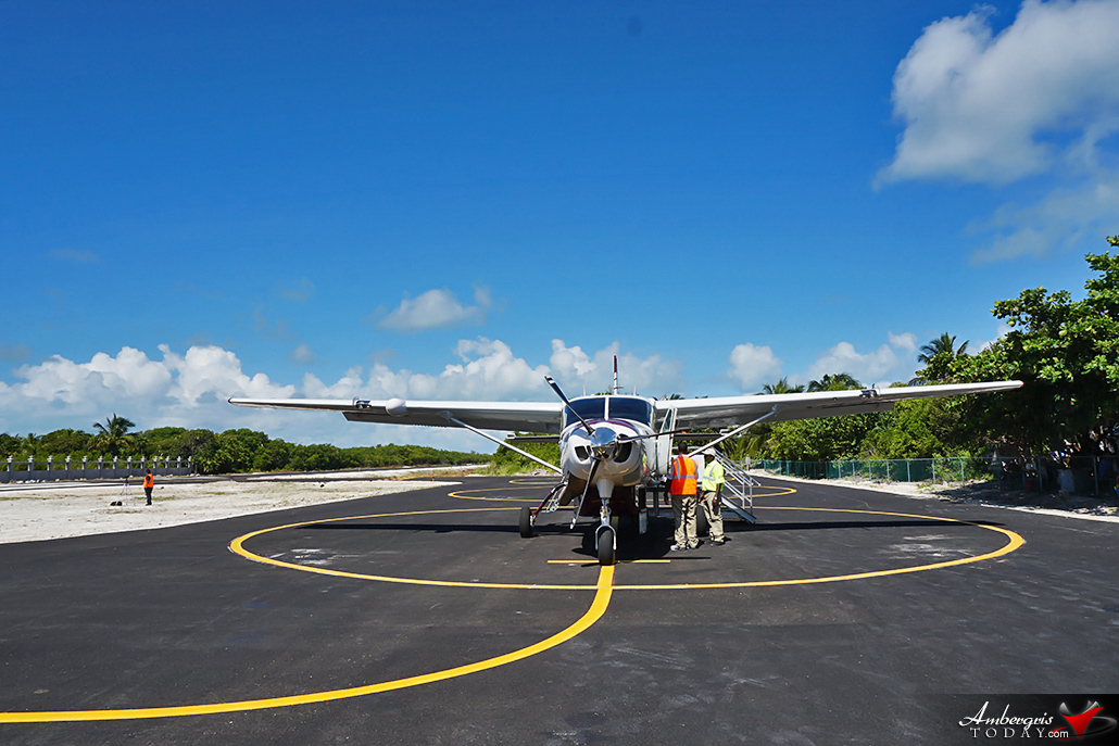 Caye Caulker Airport is Back in Action