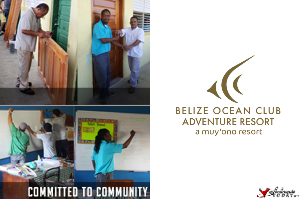 Belize Ocean Club Assists School in Seine Bight