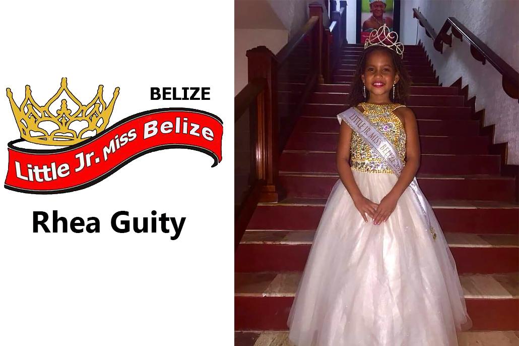 Little Jr Miss Belize 2018 Pageant Held in Belize