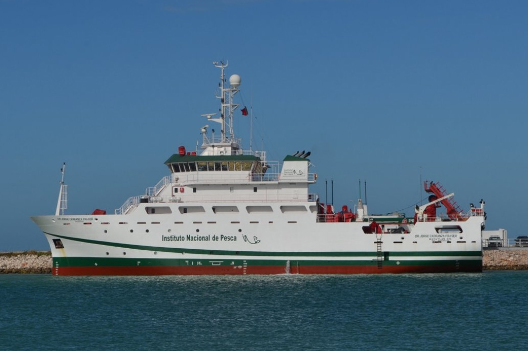 Mexican Research Vessel to Conduct Fisheries Research Work in Belize's Waters