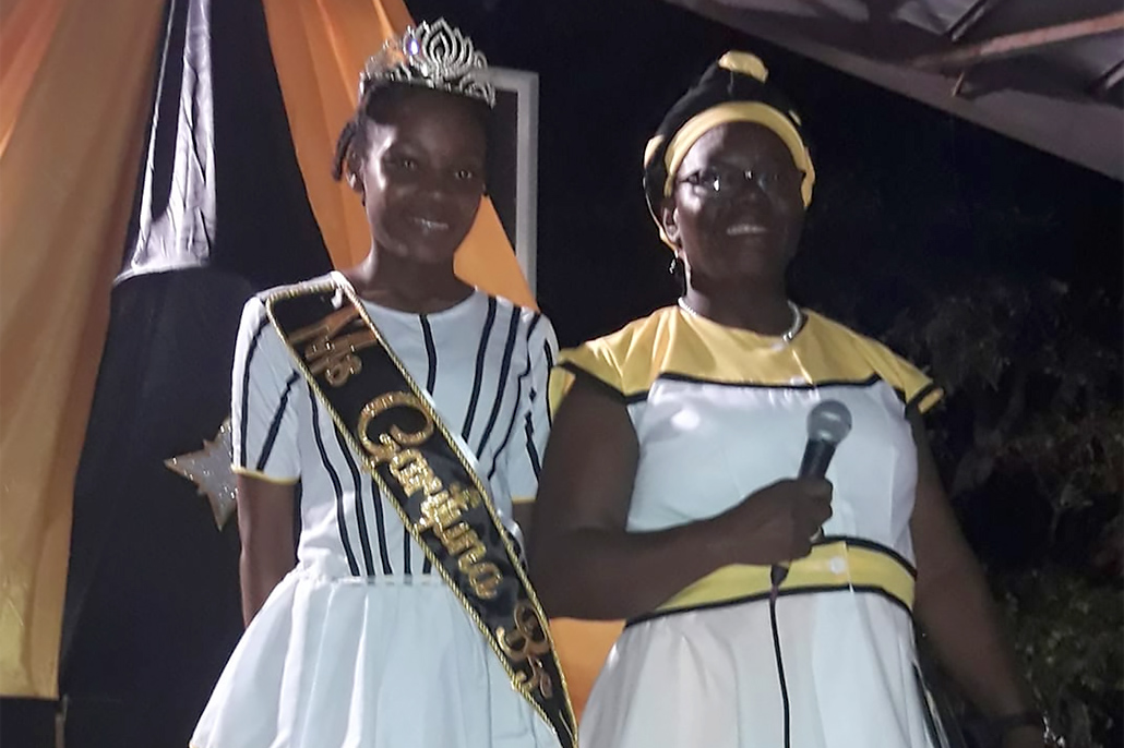 Edreena Lambey is Ms. Garifuna Belize 2018-2019