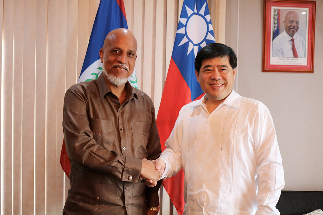 Belize Receives $4Mil US Grant from The Republic of China Taiwan