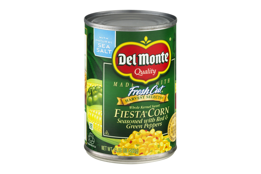 Recall of Del Monte FIESTA CORN Seasoned with Red & Green Peppers